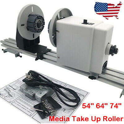 New Enhanced 74'' Media Take Up Roller System for Roland Mimaki Epson Mutoh HP