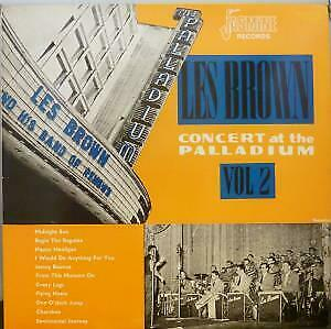 LES BROWN AND HIS BAND OF RENOWN Concert At The Palladium Vol 2 LP EX/EX