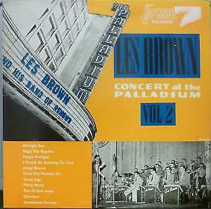 LES BROWN AND HIS BAND OF RENOWN Concert At The Palladium Vol 2 LP VG+/EX
