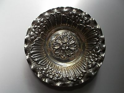Norwegian Solid Silver Ashtray. Hallmark of Silver 830. Weight 34 gram (1.15 oz)