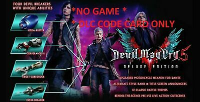 Devil May Cry 5 Deluxe Edition xbox one Add On Card *ONLY* USA Capcom