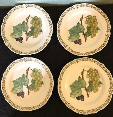 "Noritake China Royal Orchard Bread & Butter Plates 6 3/4"" Set(S) Of 4 - #9416"
