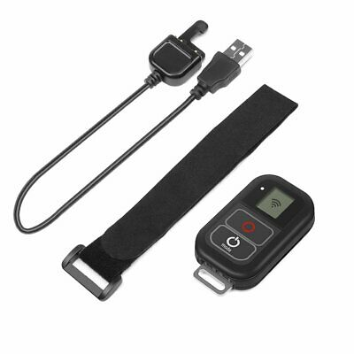 WiFi Remote Control With Charge Cable Wrist Strap for GoPro 3+ 3 4 5 6 7 Black