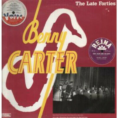BENNY CARTER Late Forties LP VINYL Denmark Official 1988 16 Track Sleeve Has