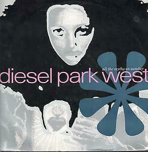 "DIESEL PARK WEST All The Myths On Sunday 12"" VINYL UK Food 1989 3 Track"