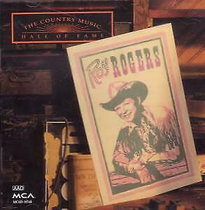 ROY ROGERS Country Music Hall Of Fame CD USA Mca 1992 16 Track. Deletion Hole