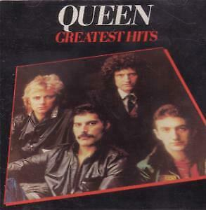 QUEEN Greatest Hits CD UK Emi 17 Track Original Issue Without Barcode