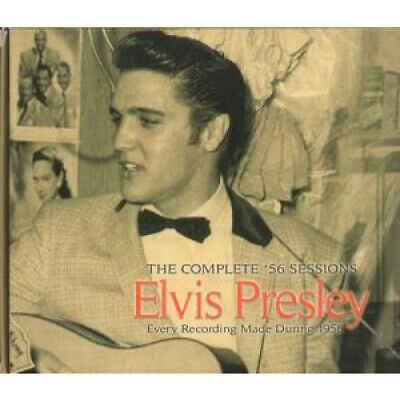 ELVIS PRESLEY Complete '56 Sessions DOUBLE CD UK Chrome Dreams 2008 52 Track