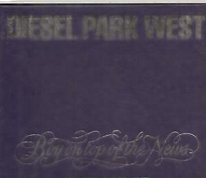 DIESEL PARK WEST Boy On Top Of The News CD UK Food 1992 4 Track With Prints In
