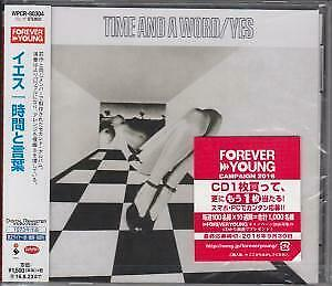 YES Time And A Word CD Japan Rhino 2016 12 Track Remastered & Expanded Japanese