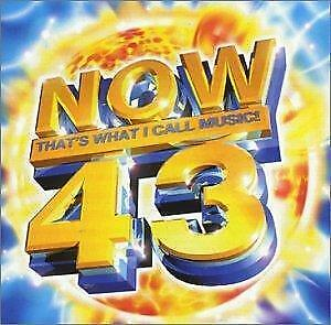NOW THAT'S WHAT I CALL MUSIC 43 Various Artists DOUBLE CD Europe Virgin 1999 41