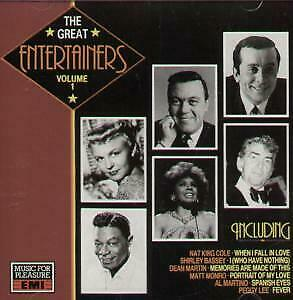 GREAT ENTERTAINERS VOLUME 1 Various CD UK Music For Pleasure 1989 22 Track
