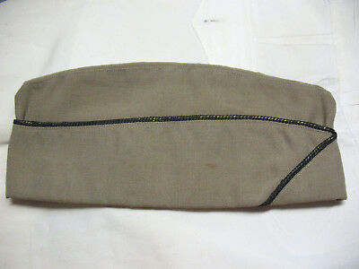 Spectacular & Beautiful Rare WWII USAAF Officer's Khaki Garrison Hat Rogers Peet
