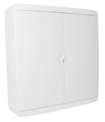 Clipsal SURFACE MOUNTING ENCLOSURE 392x376x115mm 30-Modules, Shallow Base, White
