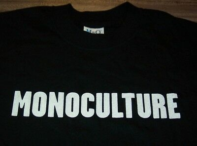 SOFT CELL MONOCULTURE Band T-Shirt LARGE NEW