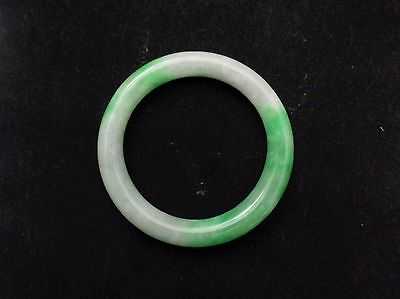 Vintage Natural Jadeite- Jade Bangle Bracelet