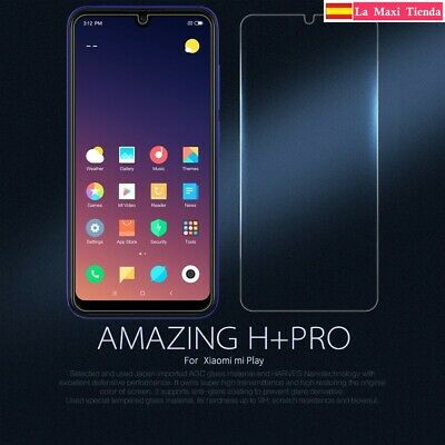 """Glass Tempered Nillkin 9h+ pro for """" Xiaomi mi Play """" Protector Screen Glass"""
