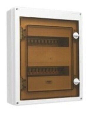 Clipsal SWITCHBOARD ENCLOSURE 420x342x110mm 24-Modules Surface Mounted, White