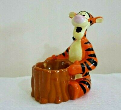 Egg Cup Tigger Character Collectible Porcelain Disney Easter Gift