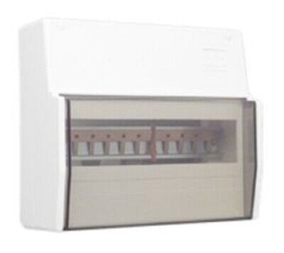 Clipsal SWITCHBOARD ENCLOSURE 11-Modules Surface Mounting, Full DIN Rail, White