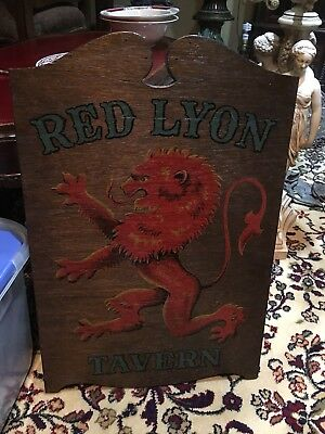 Red Lyon Tavern By Yorcraft.inc 1962