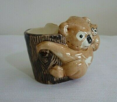 EGG CUP KOALA & BABY CHARACTER COLLECTIBLE PORCELAIN EASTER GIFT Brentleigh