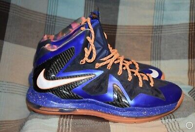 the latest 67e89 8f8ca Nike Lebron X PS Men s Shoes Size 13 Elite Superhero Basketball
