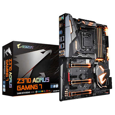 GIGABYTE Z370 AORUS Gaming 7 (rev. 1.0) LGA 1151 (300 Series) HDMI SATA 6Gb/s AT