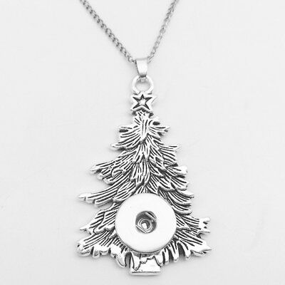 FREE SHIPPING Christmas Tree Pendant to Use With Noosa, Ginger Snaps etc.18-20mm