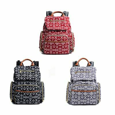 Mommy Diaper Bags Organizer Bag Nappy Backpack with Changing Mat Baby Nursing