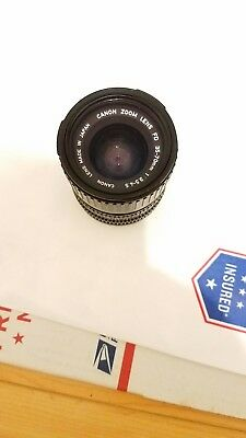 Canon Zoom Lens FD 35-70mm 1:3.5-4.5 - Read