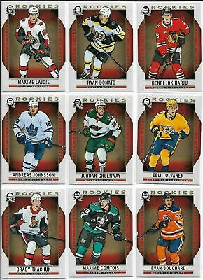 2018-19 OPC O-Pee-Chee Coast to Coast Canadian Tire Rookies SP  151-190 U PICK