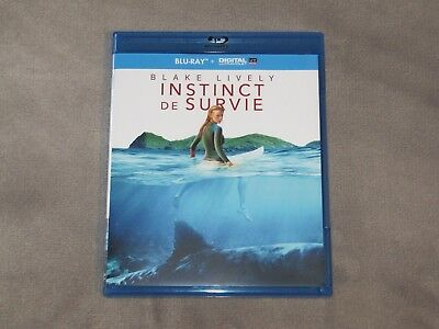 THE SHALLOWS (Instinct de Survie) Blu-ray (Blake Lively) VO