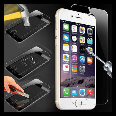 Premium Real Tempered Glass Screen Protector for Apple iPhone 7 8 Plus/X/XS Max