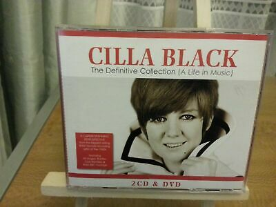 Cilla Black - The Definitive Collection (A Life in Music) (2CD 1 DVD DELUXE SET)