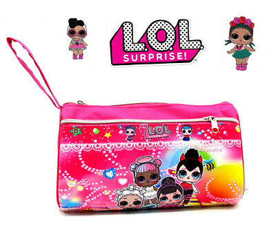 LOL Surprise Doll Kids Child School Stationery Toy Canvas Pencil Case Pouch Box