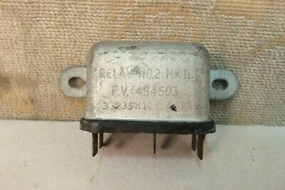 Nos Lucas 12V Military Army Land Rover Series Bedford 6Ra Relay # 33239H