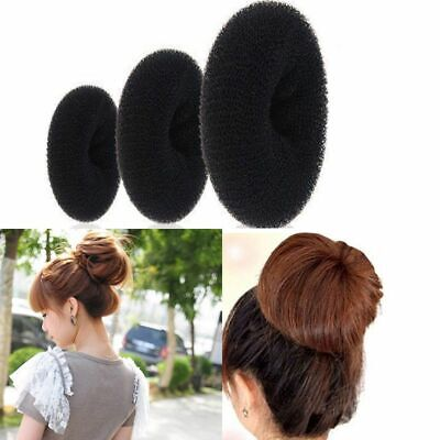 Fashion Magic Blonde Women Girl Shaper Bun Former Donut Hair Ring Maker Tool