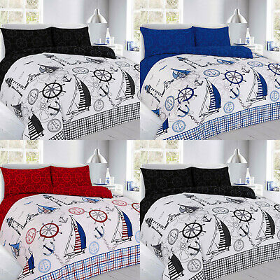 NEW Duvet Cover with Pillow Case Bedding Set Single Double King Super King JAKE