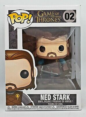 Funko Pop + Protector! Game of Thrones #02 - Ned Stark *MINT*