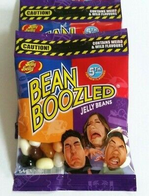 2 x BEAN BOOZLED 54g 5th EDITION * Fast & Free Post * Jelly Belly Beans