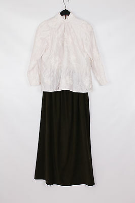 Women's Small Victorian Lady Theatre Re-enactment Costume  UK 10 -12