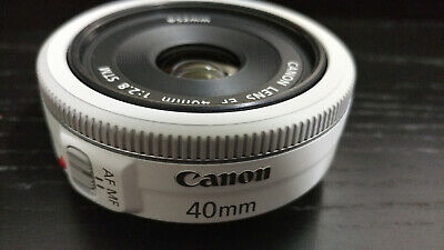 Canon EF 40mm f/2.8 STM Lens, Great Condition