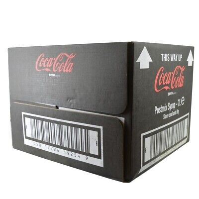 7ltr Coke Zero Bag In Box (Post Mix Syrup) - Minimum 4 weeks date guarantee
