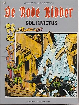 DE RODE RIDDER 136 SOL INVICTUS Willy Vandersteen Karel Biddeloo