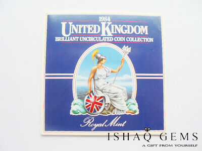 Royal Mint UK Elizabeth II 1984 Not Circulated Coins Gift Set Collectable