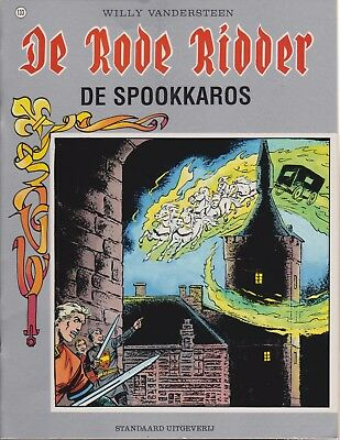 DE RODE RIDDER 133 DE SPOOKKAROS Willy Vandersteen Karel Biddeloo