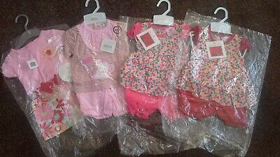 Bundle of baby girls clothes size 0-3 months 3-6 months Bnwt