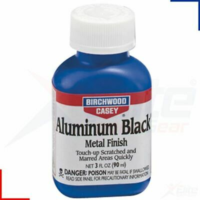Birchwood Casey Gun Aluminium Black Air Rifle Shotgun Metal Finish 90ml