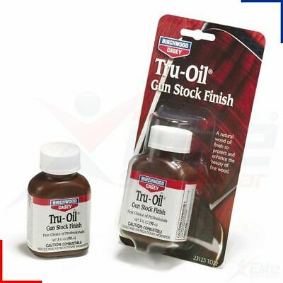 Birchwood Casey Tru Oil Air Gun Rifle Shotgun Stock Finish 90ml Liquid